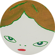 奈良美智 1995年「Gril」
