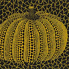 草間弥生「かぼちゃ(Y)」1992年